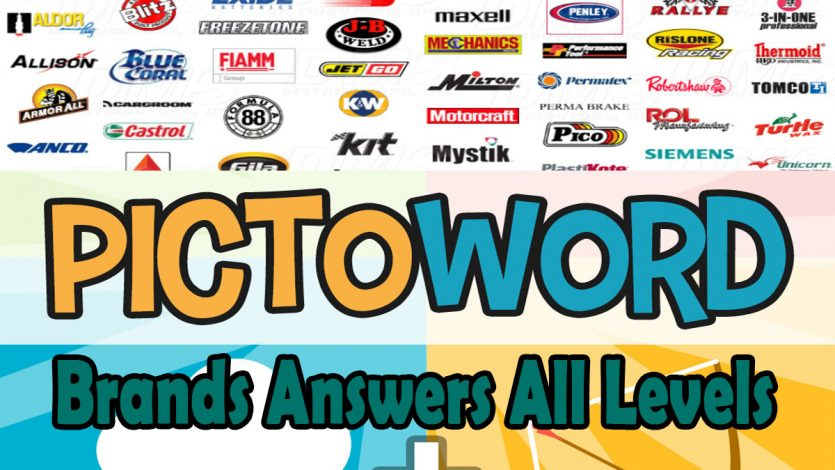 Pictoword Brands Answers All Levels