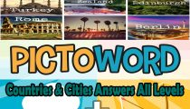 Pictoword Countries & Cities Answers All Levels