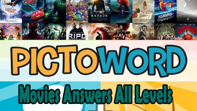 Pictoword Movies Answers All Levels